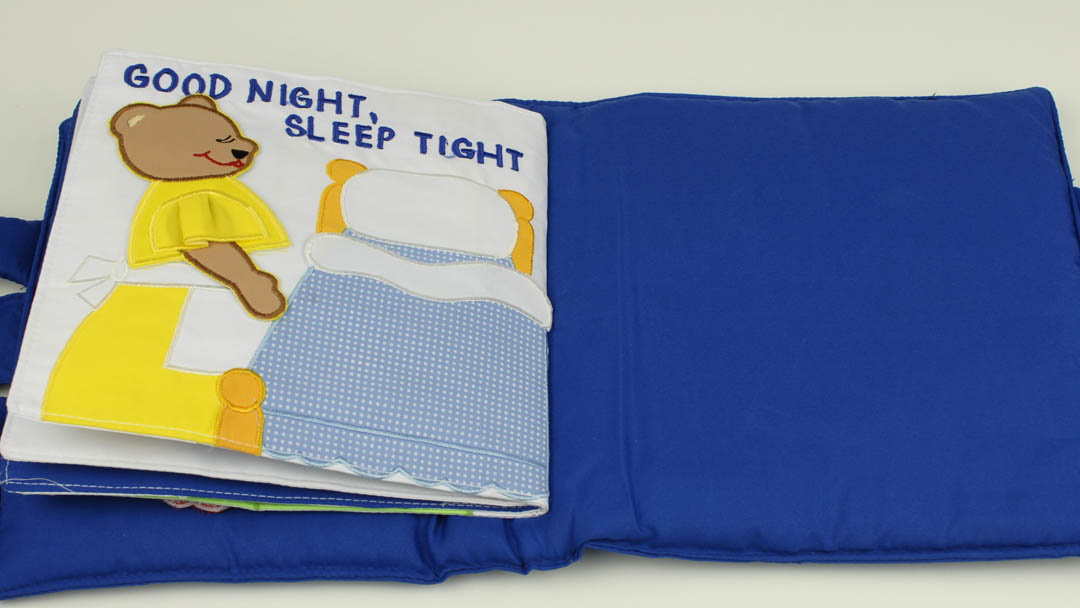cloth children's books bedtime bear